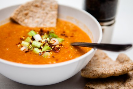 Hot and Spicy Lentil Soup