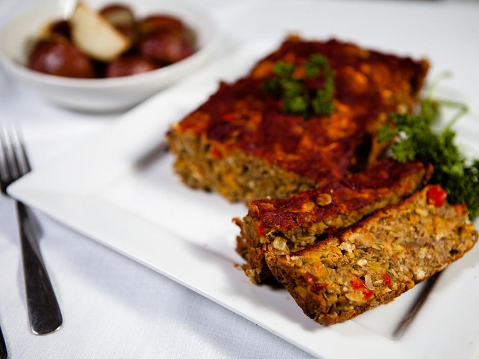 Veggie Lentil Loaf