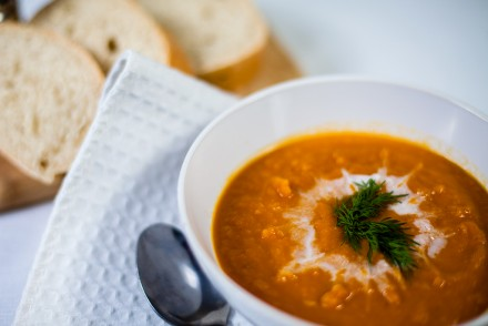 Vegan Curried Carrot Soup