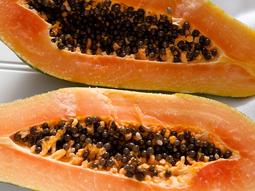 Vegan Papaya Mango Smoothie