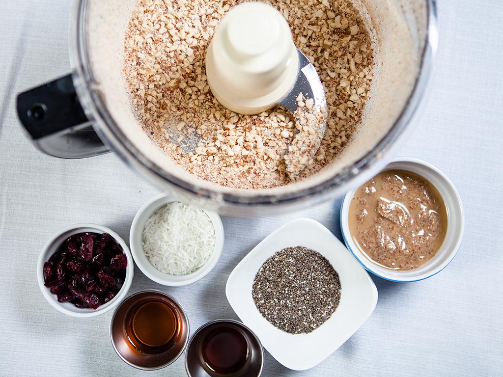 Coconut Cranberry Bars Vegan, Gluten Free