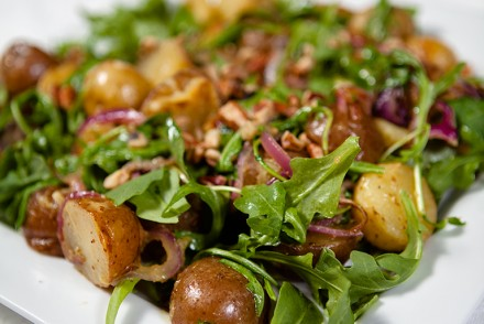 Warm Potato and Arugula Salad
