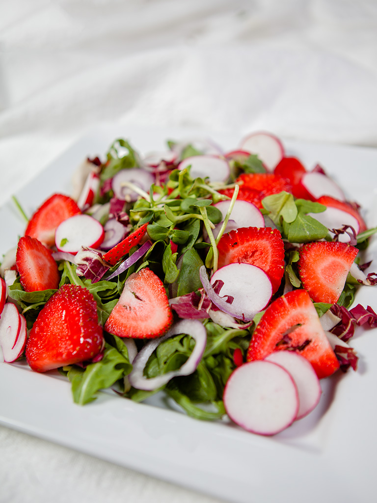 Strawberry and Radish Salad