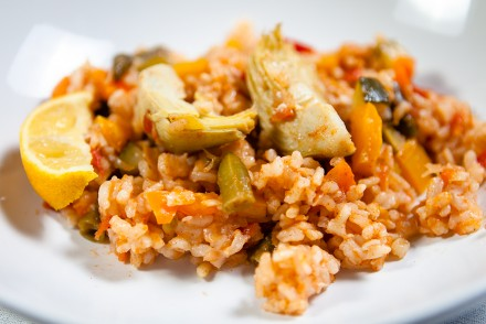 Vegan Vegetable Paella