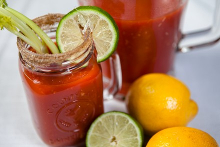 Vegan Virgin Caesar Cocktail Drinks