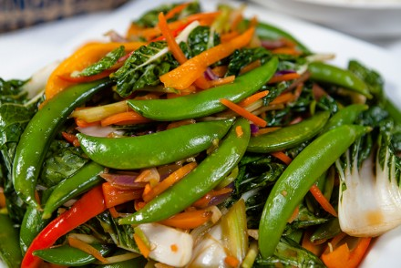 Vegan Vegetable Stir Fry