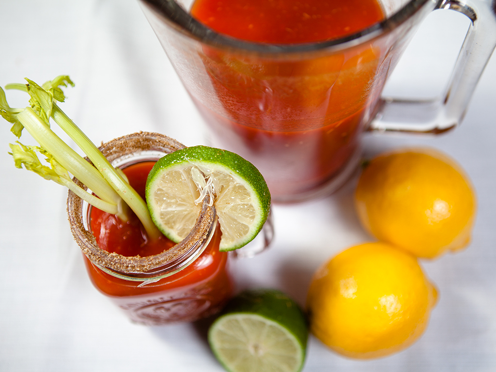 Vegan Virgin Caesar Cocktail Drinks
