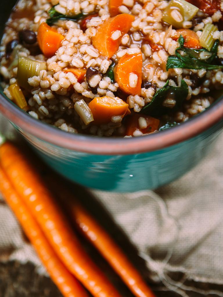 Vegan Vegetable Barley Stew