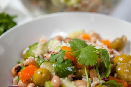 Basmati Rice and BlackEyed Pea Salad