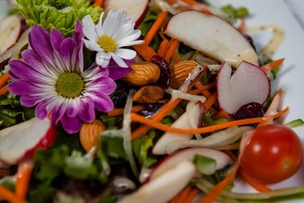 Vegan Mixed Garden Salad