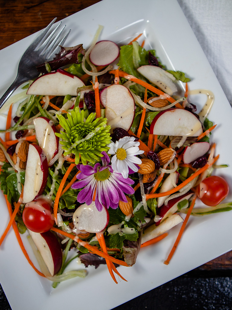 Vegan Mixed Garden Salad