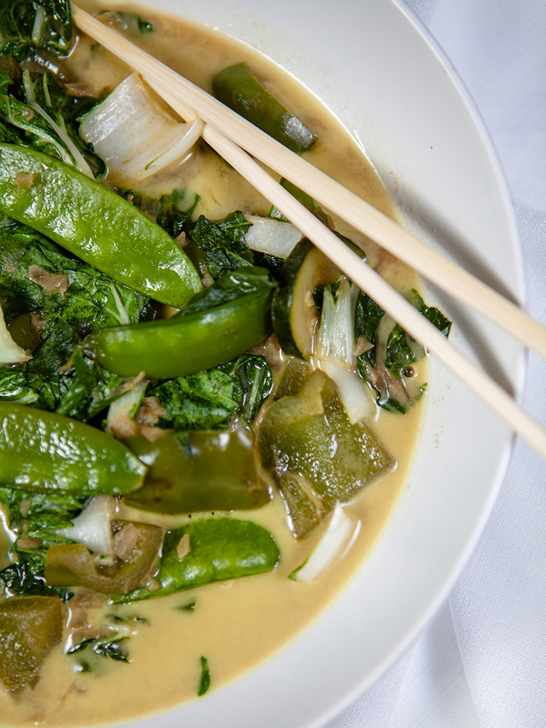 Vegan Vegetable Thai Green Curry