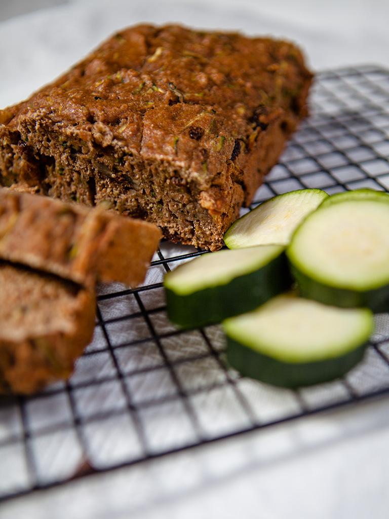 Vegan Zucchini Walnut Loaf