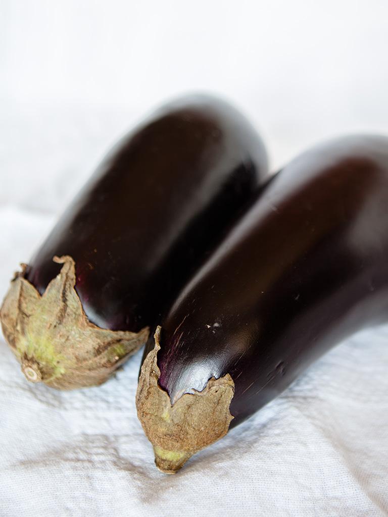 Eggplant Chickpea Bake