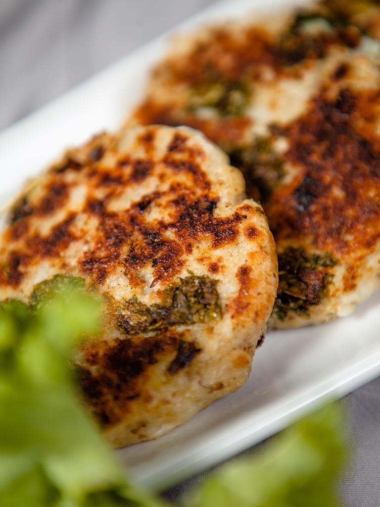 Kale And Mashed Potato Cakes