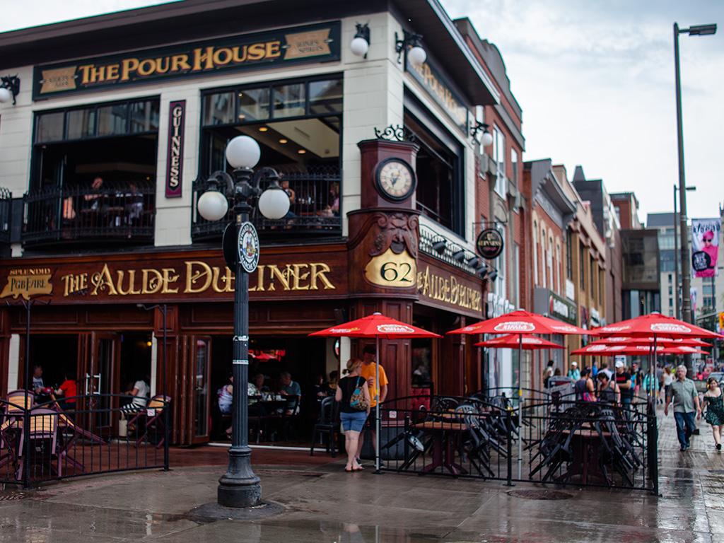Aulde Dubliner Pub Ottawa Ontario
