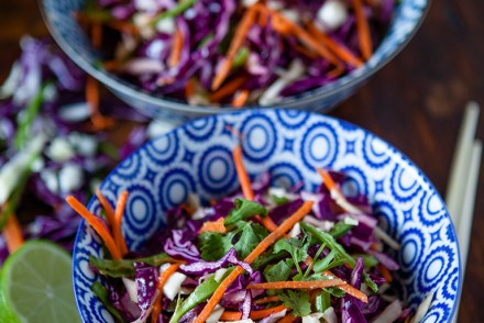 Vegan Asian Coleslaw
