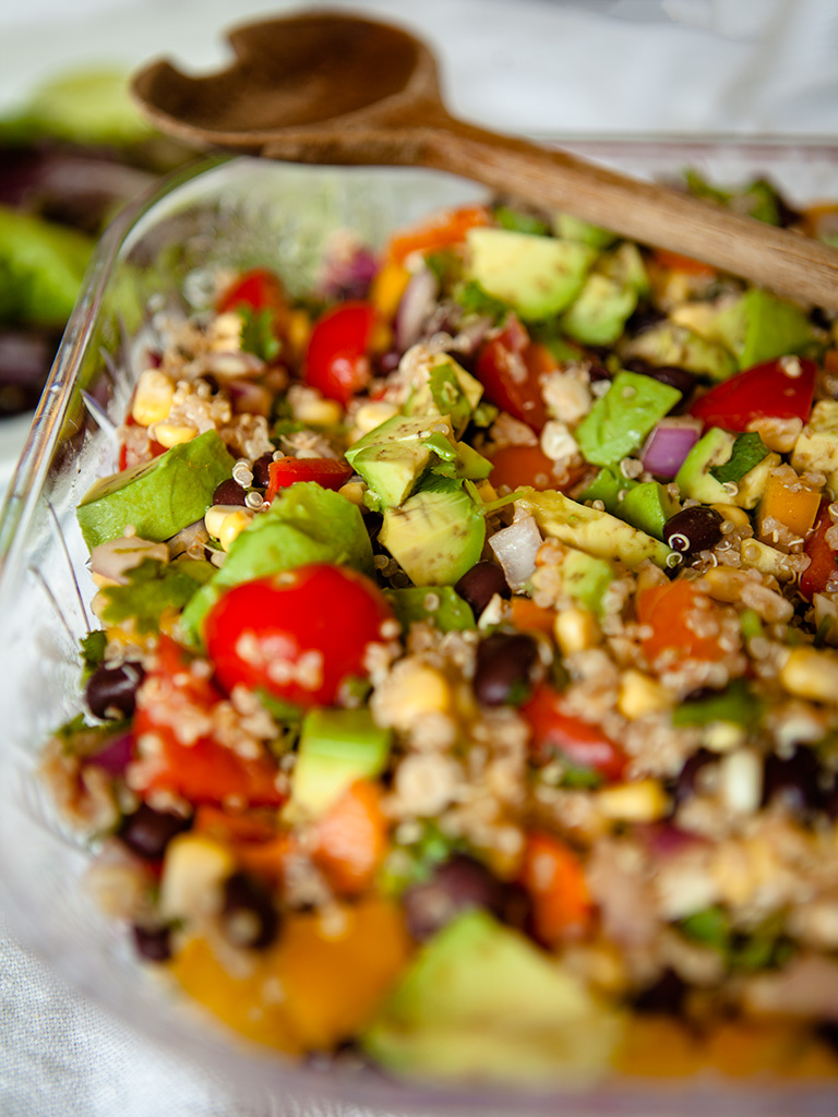 Vegan Quinoa Fiesta Salad