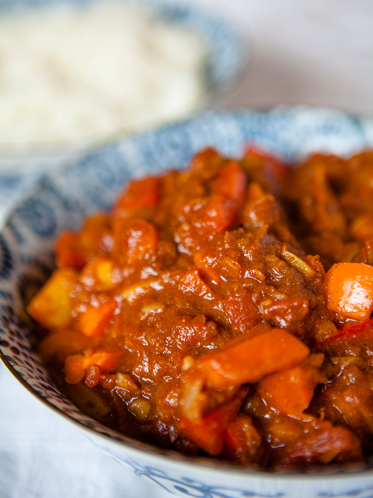 Vegan Sweet Pepper Curry