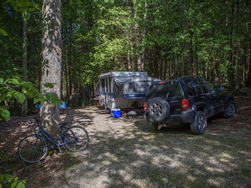 Camping Hope Bay Ontario