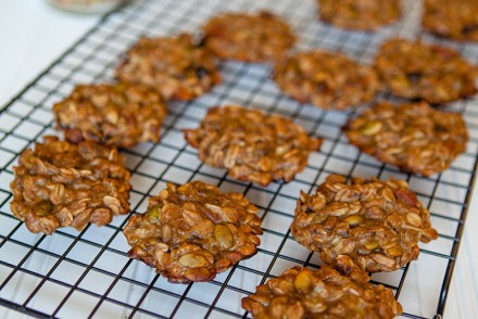Fruit and Nut Granola Cookies