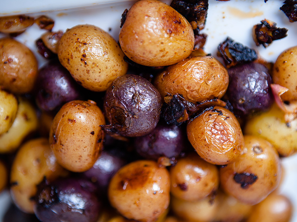 Oven Roasted Chipotle Potatoes