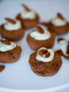 Raw Carrot Muffins