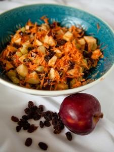 Apple and Raisin Salad