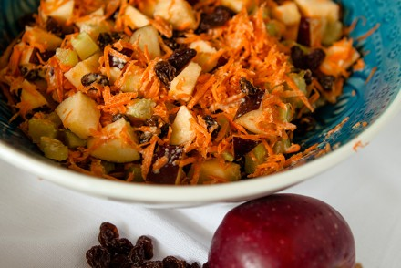 Apple and Raisin Salad