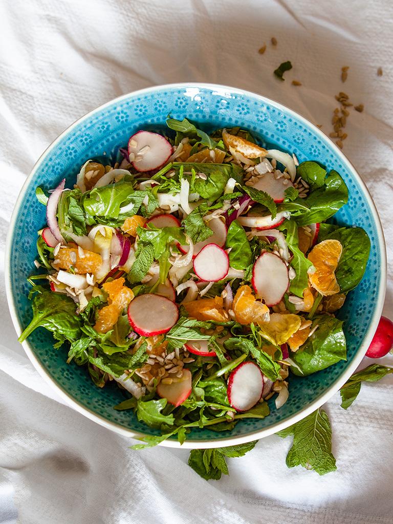 Belgian Endive and Radish Salad