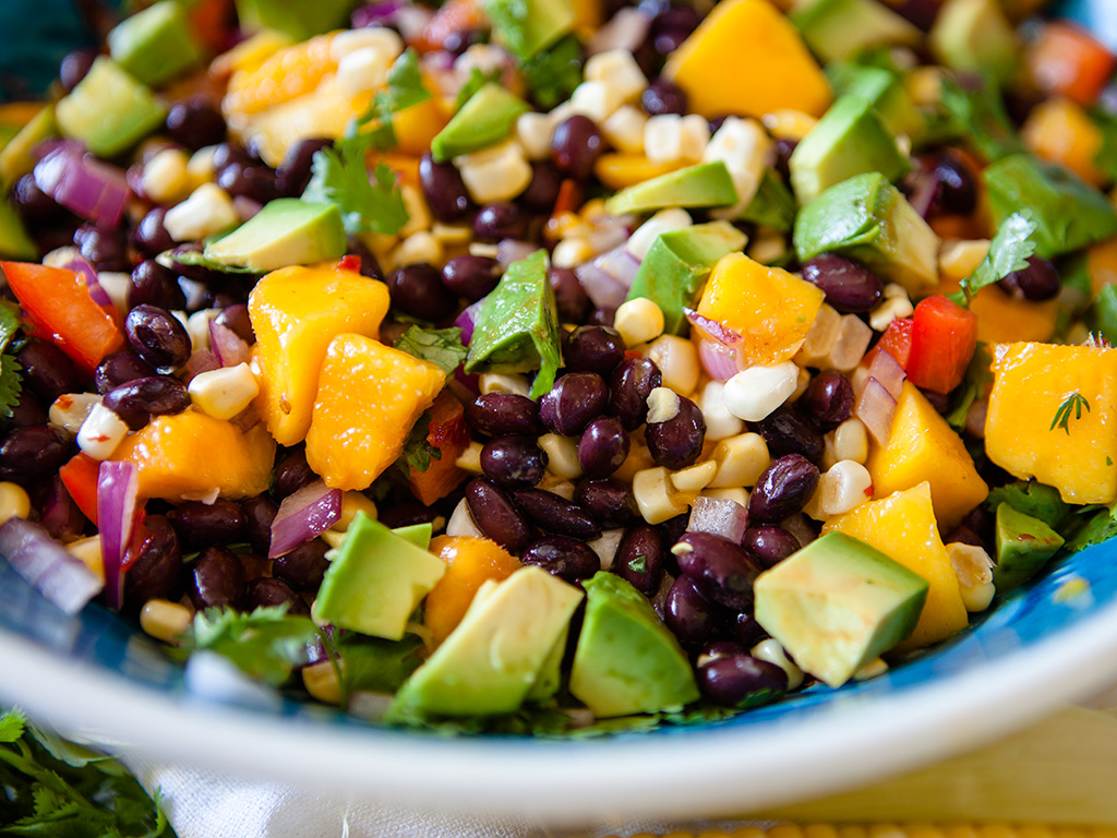 Black Bean and Mango Salad