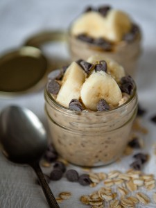Peanut Butter Overnight Oats Pudding