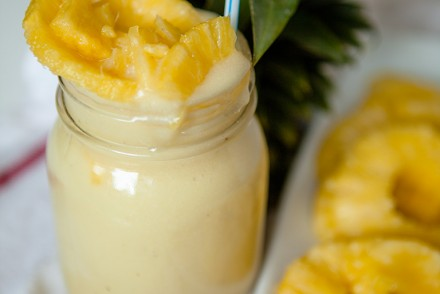 Pineapple Coconut and Smoothie