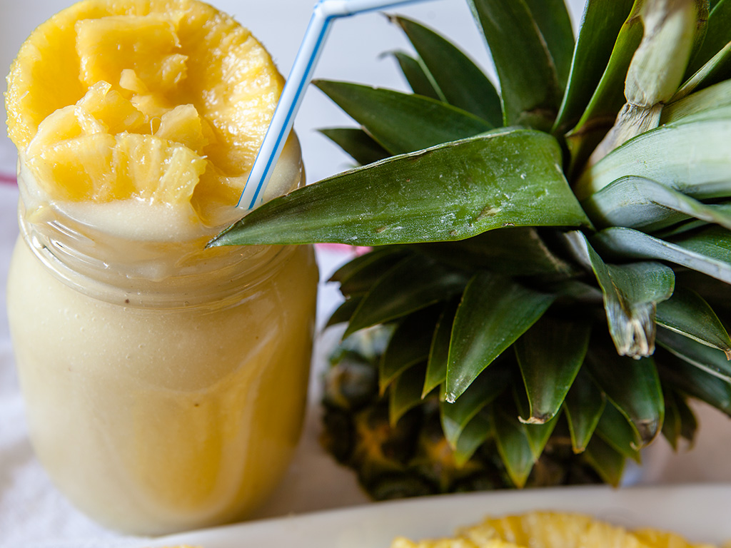 Pineapple and Coconut Smoothie
