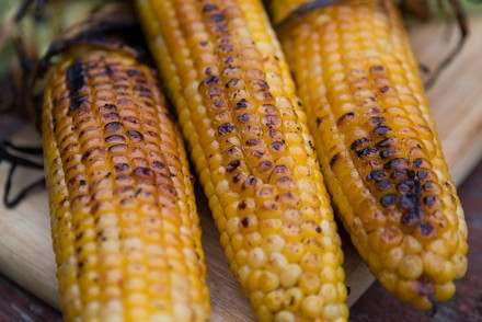 BBQ Spicy Chipotle Corn on the Cob