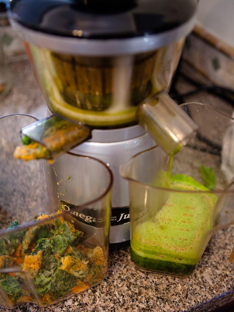 Spinach Cucumber Juice