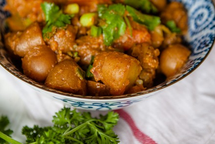 Vegan Bombay Potatoes