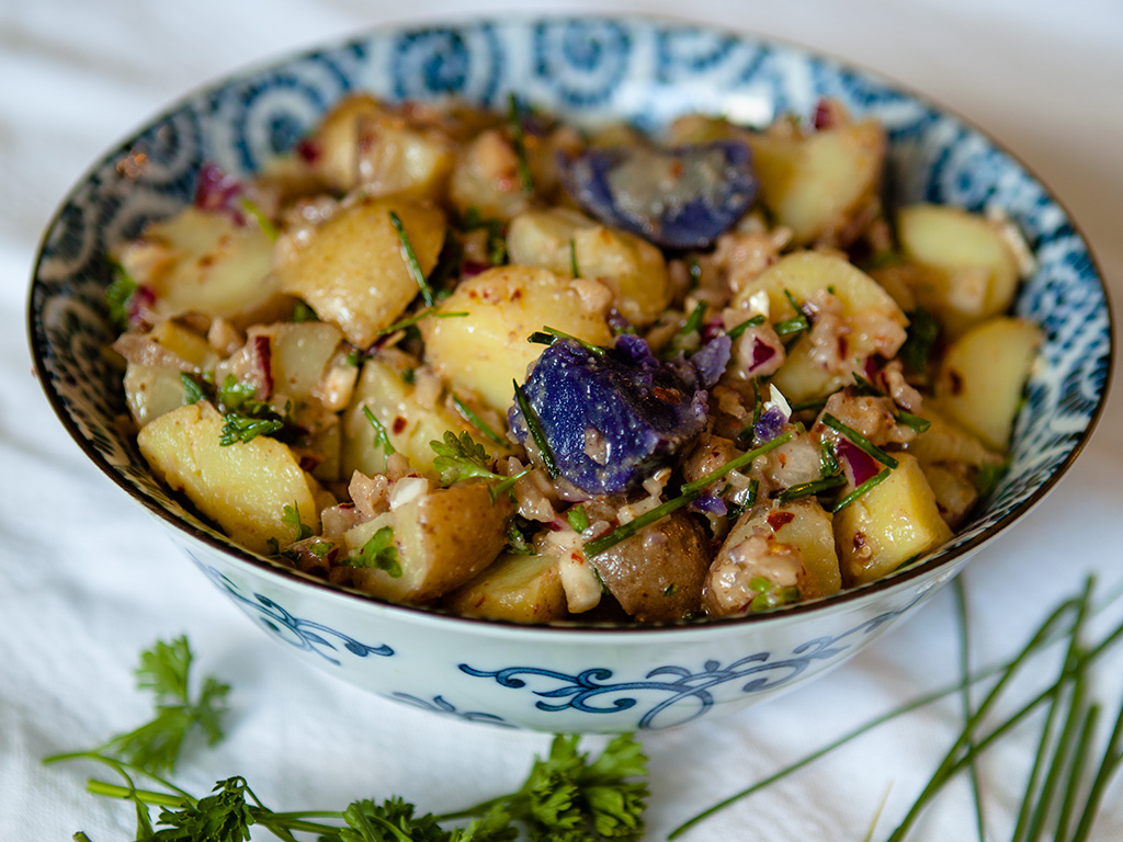 Vegan Dijon Potato Salad