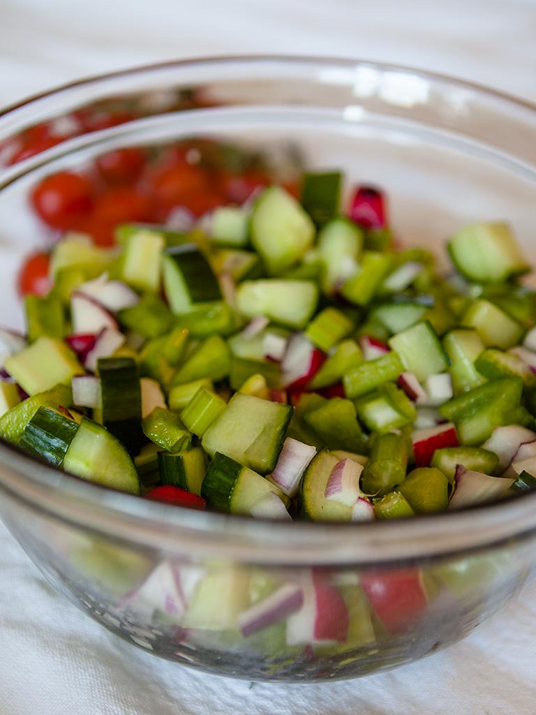 Vegan Tomato and Caper Salad