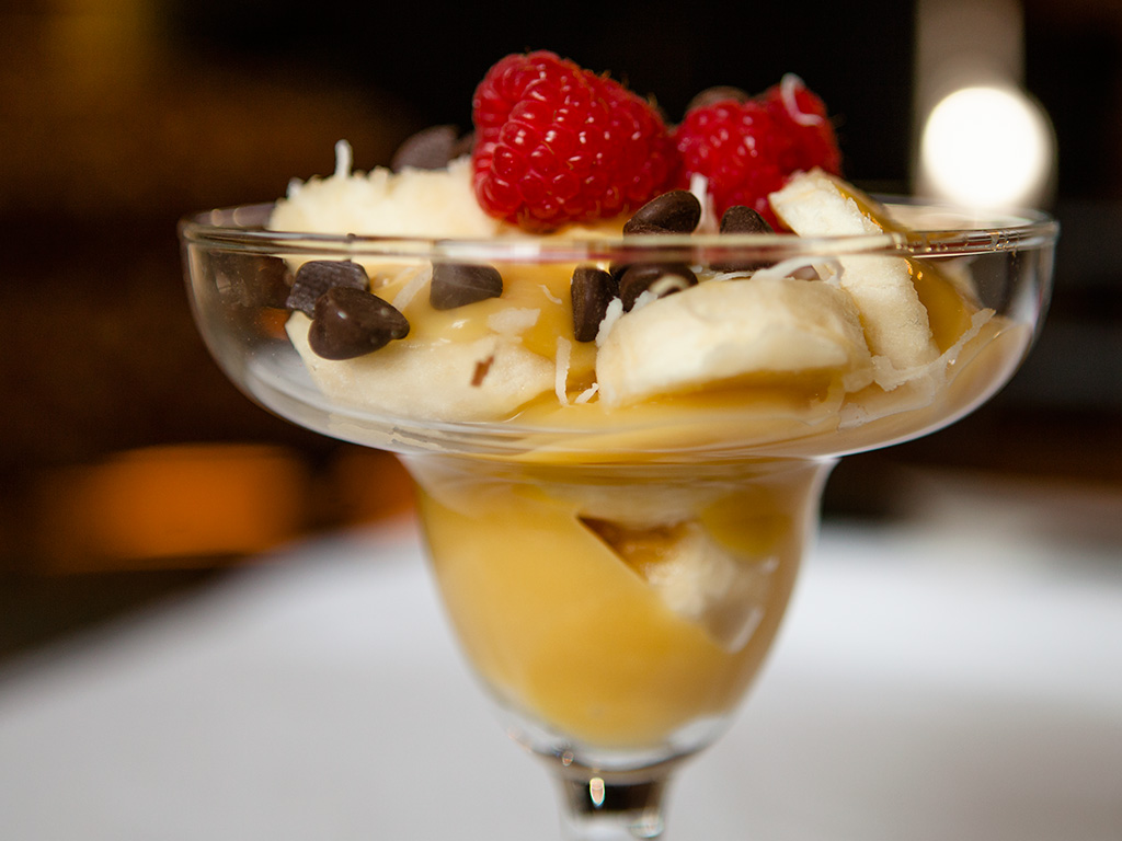 Banana and Custard Parfait