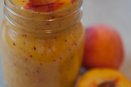 Peach and Mango Smoothie