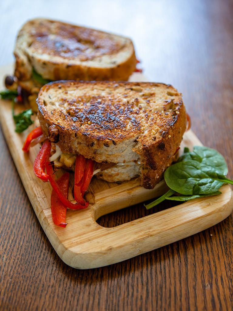 Vegan Gourmet Grilled Cheese Healthy Food