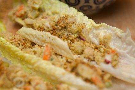 Creamy Vegan Chickpea Salad
