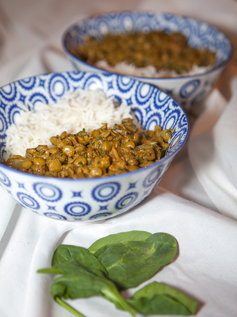 Vegan Green Lentil Curry