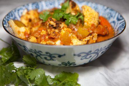 Vegan Roasted Cauliflower Curry